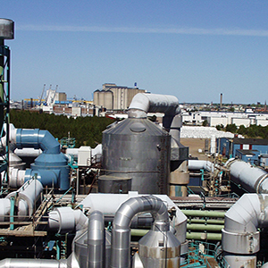 Gas Concentration Monitoring in Sulfuric Acid Production